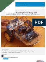 Obstale Avoiding Robot Using l298 Fe4f77