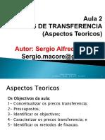 Aspectos Teoricos de Precos de Transferencias