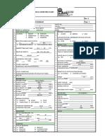 Agitator Datasheet