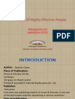 Book Review Ppt (Mangesh Pote)