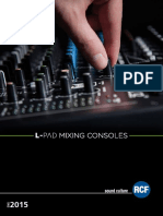 Mixing Consoles 2015
