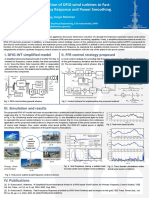 Contribution of DFIG wind turbines to Fast- Frequency Response and Power Smoothing