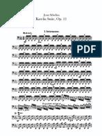Sibelius Karelia Suite, Op.11 Cello
