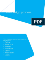 Stages in designing