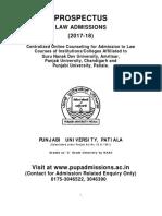 Law Prospectus