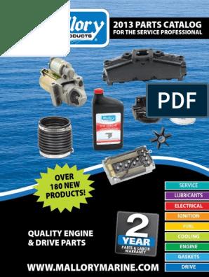"Mallory Fuel Connector Honda Male 1//4/"" NPT Replaces Honda 16977-ZV5-A00 9-38007"