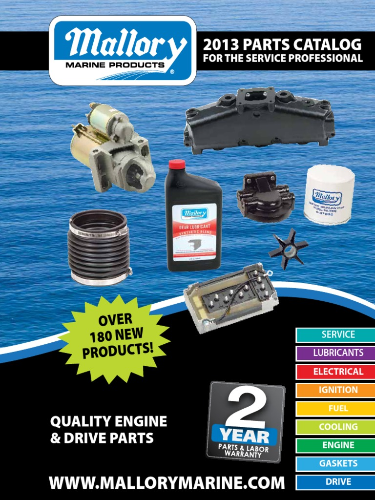 Mallory Marine 2013 Product Catalog 110 Evinrude Looper Wiring Diagram