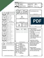Pockets' Character Sheet