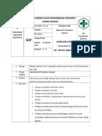 Spo Meminta Persetujuan Pengambilan Specimen Darah Kapiler