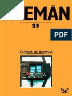 AA. VV. - [Curso de Aleman 25] Aleman - Unidad 25 [25064] (r1.0).epub