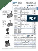 Control Regulacion Calor Tarifa PVP SalvadorEscoda.2017