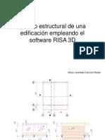 Diseño Estructural de Una Edificacion Empleando El Software Risa 3d
