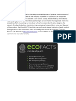 BenQ ecoFACTS