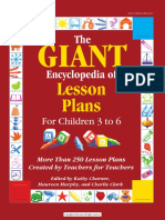 Giant Encyclopedia Lesson Plans 3 6 Preview 1