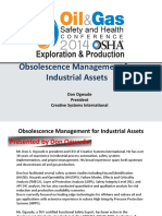 OEM - OSHA 2014 - Obsolescence Management for Industrial Assets