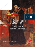 Stefan Zweig, Conscience Contre Violence
