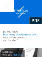Will it scale? Continuous Scalability Testing with Stacktical