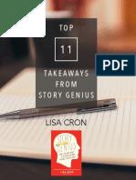 11 Story Genius Takeaways