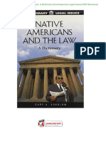 Native-Americans-and-the-Law--A-Dictionary-(Contemporary-Legal-Issues)-PDF-Download.docx