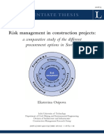 Risk management in construction projects_ a comparative stury of the different precurement options in Sweden.pdf