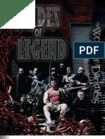 World of Darkness - Dudes of Legend