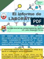 conferencia 2 EL INFORME DE LABORATORIO.pptx