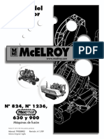 Mcelroy 630 y 900