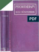 Psychotherapy by Hugo Münsterberg