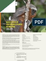 Nuevas especies animales y vegetales en el Amazonas