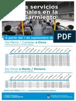 Adicionales Sarmiento Sept 17