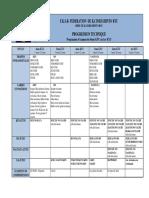 Programme Kyu Kobudo