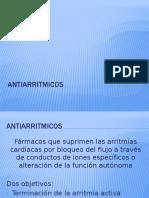 Antiarritmicos Completo