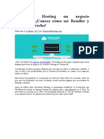 WordPress Hosting Un Negocio Billonario