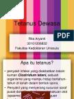PPT Penyuluhan Tetanus Dewasa