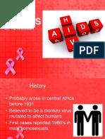 HIV AIDS in ED tia