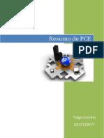 Resumo de PCE