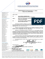 Memo Circular No.2_uap Membership Annual Dues for Fy 2015-2016