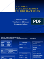 Chapter 7 Leveraging Secondary Brand Associations to Build Brand Equity