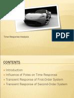 4.1 Time Response Analysis