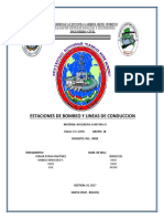 Estaciones de Bombeo Informe g18