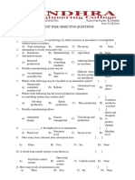 Automation Objective Questions
