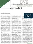 Extremadura no es Extremadurii por Carlos Callejo en Revista Alminar n º 50/1983