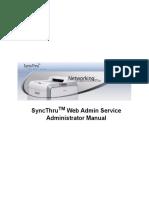 SyncThru Web Admin Service Administrator Manual - SWAS_main.pdf