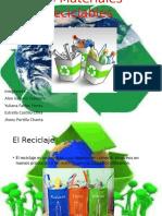 Los Materiales Reciclables Exposicion