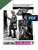 Vigial and Gutierrez La Cuestion Linguistica y Los Derechos l (1)