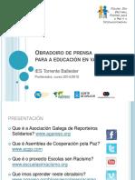 Temario Prensa