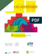 Agendas de Competitividad de Los Destinos Turísticos de México 2013-2018 Estudio de Competitividad Turística Del Destino Guanajuato, Guanajuato .SECTUR