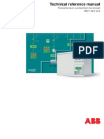 1MRK504036-UEN-En Technical Reference Manual Transformer Protection Terminal RET 521-2-5