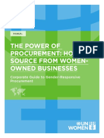 The Power of Procurement How to Source From Women Owned Businesses En