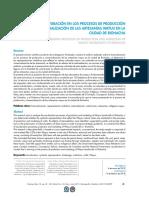 Revista de La Facultad de Ciencias Económicas, Administrativas y Contables de La Universidad Libre Seccional Barranquilla